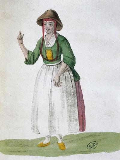 Quaker Woman, 1767--Giclee Print