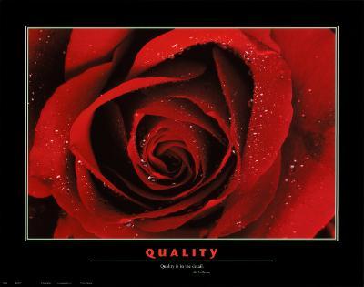 Quality--Art Print