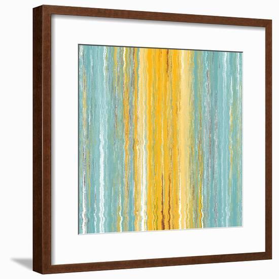 Quantum Realm II-Ricki Mountain-Framed Art Print