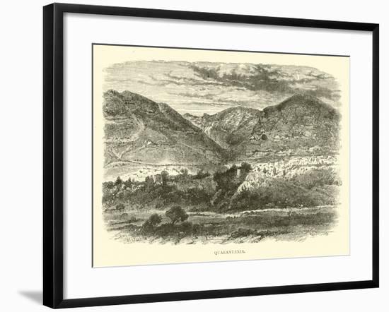 Quarantania--Framed Giclee Print