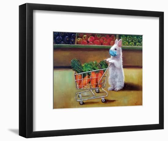 Quarantine Shopping-Lucia Heffernan-Framed Art Print