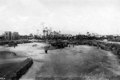 Quarry and Construction at Venetian Pool Site, Coral Gables, Florida, C.1923--Photographic Print