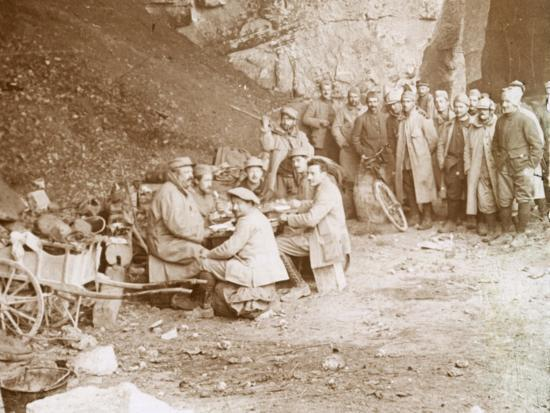 Quarry, Balleroy, northern France, c1914-c1918-Unknown-Photographic Print