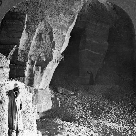 Quarry Chambers of Masara, Egypt, 1905-Underwood & Underwood-Photographic Print