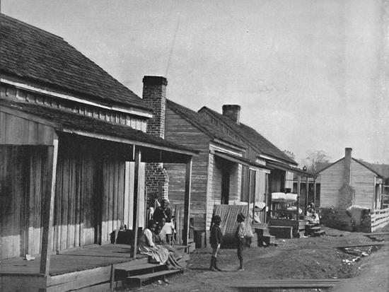Quarters at Thomasville in Georgia', 19th century-Unknown-Photographic Print