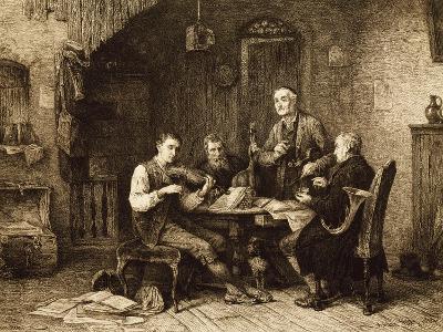 Quartet of Amateurs, Hungary--Giclee Print