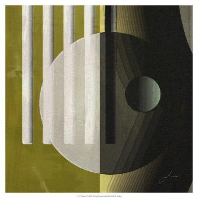Quartet Tiles III-James Burghardt-Art Print