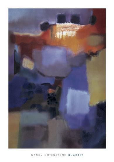 Quartet-Nancy Ortenstone-Art Print