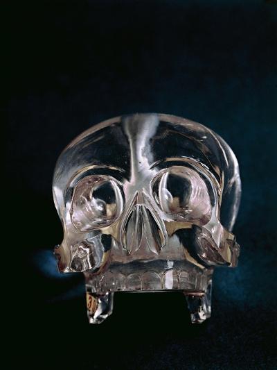 Quartz Crystal Skull--Giclee Print