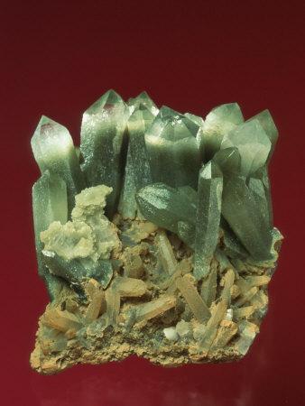 Quartz Crystals-Mark Schneider-Photographic Print
