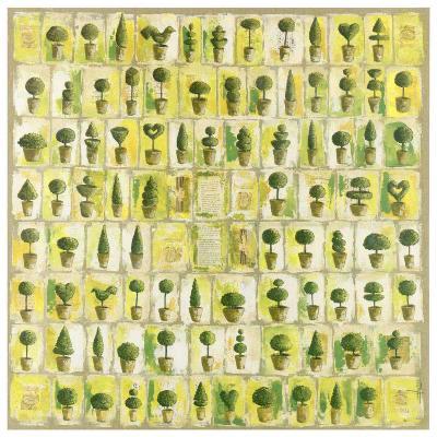 Quatre Vingt Huit Petits Topiaires-V?ronique Didier-Laurent-Art Print