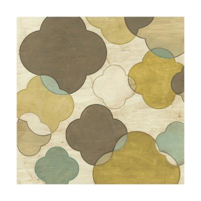 Quatrefoil Overlay II-June Erica Vess-Art Print