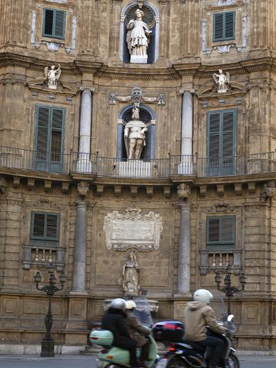 Quattro Canti (Four Corners), Palermo, Sicily, Italy, Europe-Stuart Black-Photographic Print
