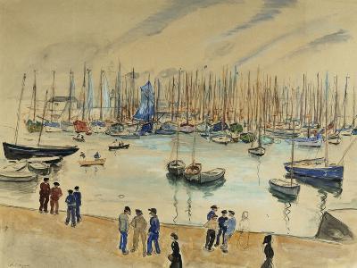 Quay; Le Quai-Henri Lebasque-Giclee Print
