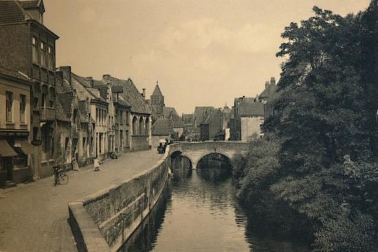 'Quay of the Ménétriers', c1910-Unknown-Photographic Print