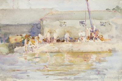 Quay Scamps, 1896-Henry Scott Tuke-Giclee Print