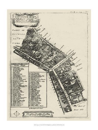 Quays of London III--Art Print