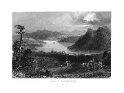 Quebec, Canada, Panoramic View of Lake Massawippi-Lantern Press-Art Print
