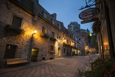 Quebec City, Province of Quebec, Canada, North America-Michael Snell-Photographic Print
