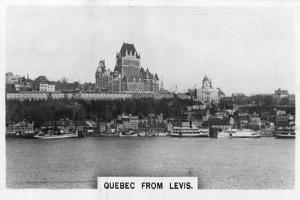 Quebec from Levis, Canada, C1920S