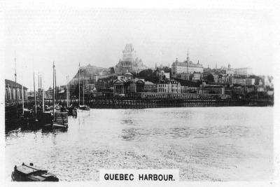 Quebec Harbour, Canada, C1920S--Giclee Print