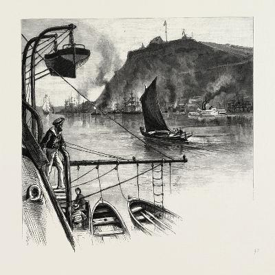 Quebec, the Citadel, from H.M.S. Northampton, Canada, Nineteenth Century--Giclee Print