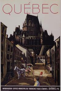 Quebec Travel Poster
