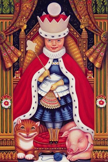 Queen Alice, 2008-Frances Broomfield-Giclee Print