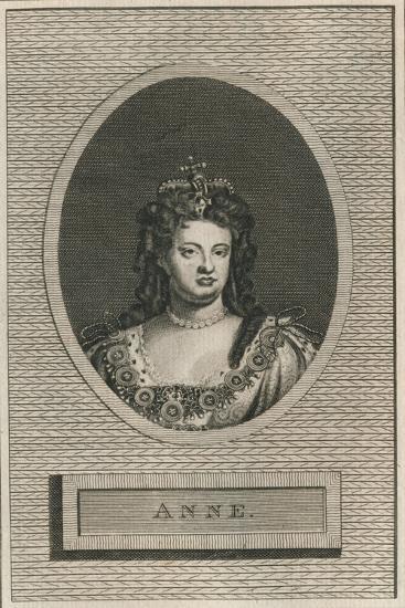 Queen Anne, 1793-Unknown-Giclee Print