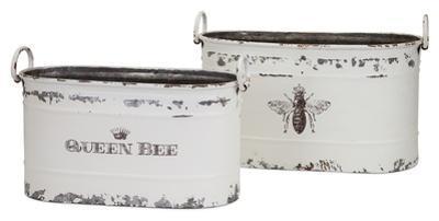 Queen Bee Tub Pair