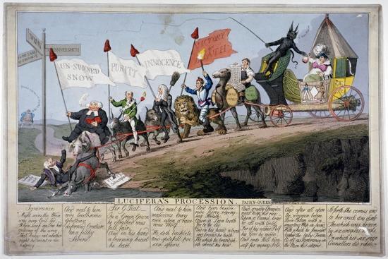 Queen Caroline's Procession-Theodore Lane-Giclee Print