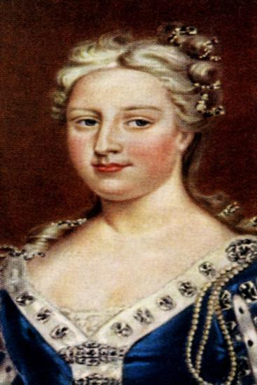 Queen Caroline--Giclee Print