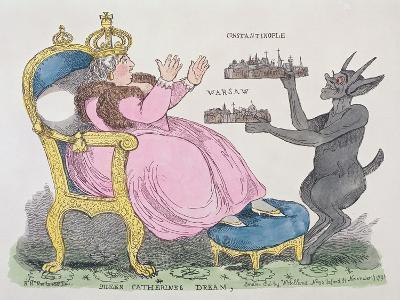 Queen Catherine's Dream, 1791--Giclee Print