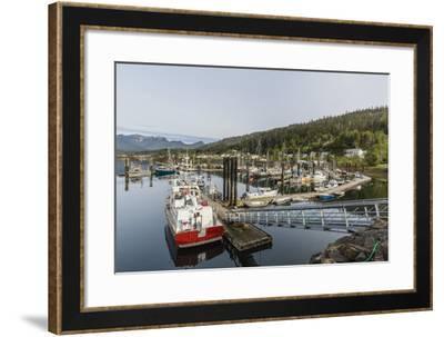 Queen Charlotte City Harbor, Haida Gwaii (Queen Charlotte Islands), British Columbia-Michael Nolan-Framed Photographic Print