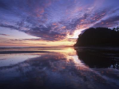 Queen Charlotte Islands, (Haida Gwaii), Tow Hill on Graham Island at Dawn, British Columbia, Canada-Chris Cheadle-Photographic Print