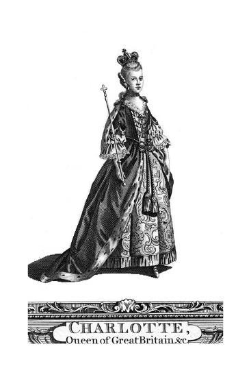 Queen Charlotte, Queen Consort of George III of the United Kingdom--Giclee Print