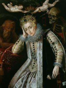 Queen Elizabeth I (1538-1603) in Old Age, C.1610