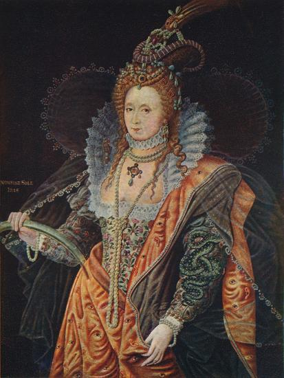 Queen Elizabeth I, 16th century (1905)-Unknown-Giclee Print