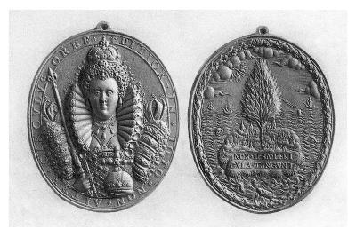 Queen Elizabeth I Medal, 16th Century--Giclee Print