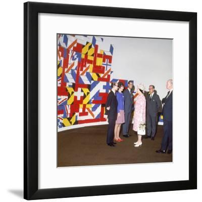 Queen Elizabeth II, Canada Tour 1967--Framed Photographic Print