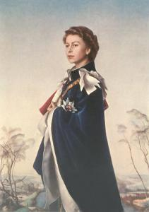 Queen Elizabeth II in Robes