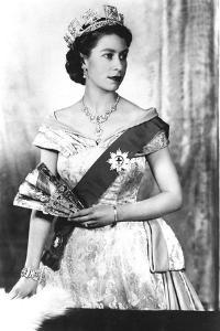Queen Elizabeth II of England (Daughter of Georgevi) Here in 1952