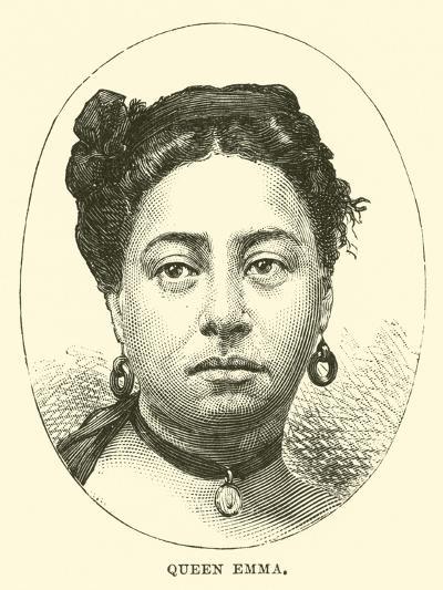 Queen Emma--Giclee Print