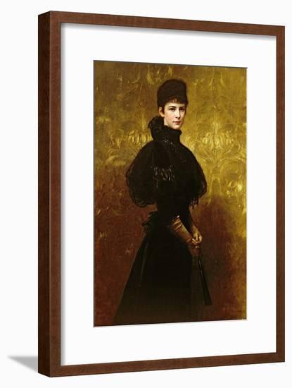 Queen Erzsebet-Gyula Benczur-Framed Giclee Print