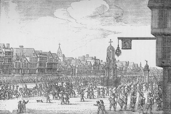 Queen Henrietta Maria's Entry into London, 1625 (1903)-Unknown-Giclee Print
