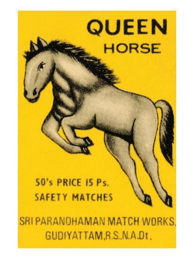 Queen Horse--Art Print