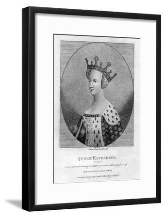 Queen Katharine, (Catherine of Valoi), Queen Consort of England of Henry V
