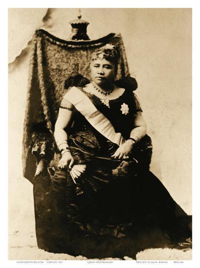 Queen Liliuokalani, Hawaii (1838-1917)--Art Print