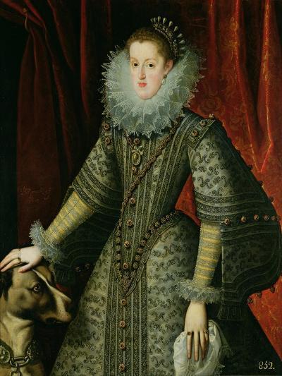 Queen Margarita of Austria, 1609--Giclee Print