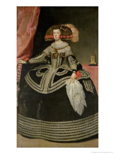 Queen Maria Anna of Austria-Diego Velazquez-Giclee Print